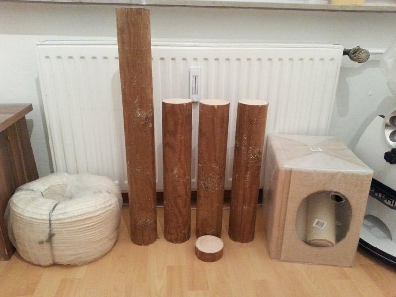 Kratzbaum Selbst Bauen Affordable Eine Baumscheibe Kann Als Fu Fr